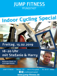 Indoor Cycling Special am 15.02.2019