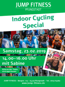 Indoor Cycling Special am 23.02.2019